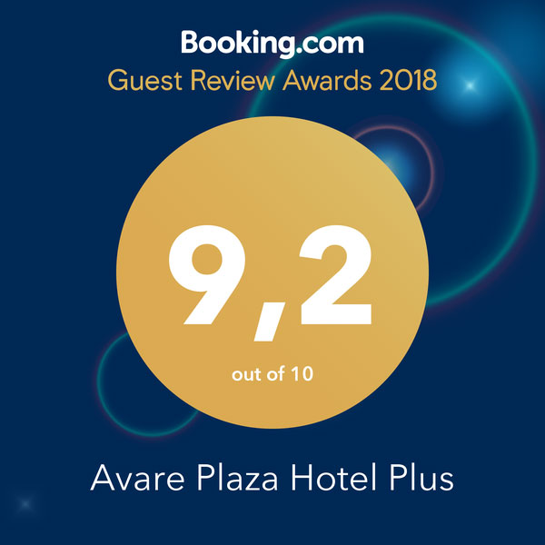 Booking.com - Guest Review Awards 2018 - 9,2